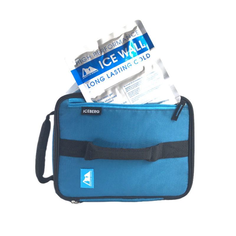 Arctic Zone Expandable Lunch Pack~Sapphire Blue( NEW)
