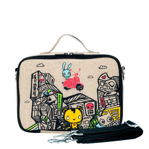 so young insulated bag kids lunch bag bambino love. Black Bedroom Furniture Sets. Home Design Ideas