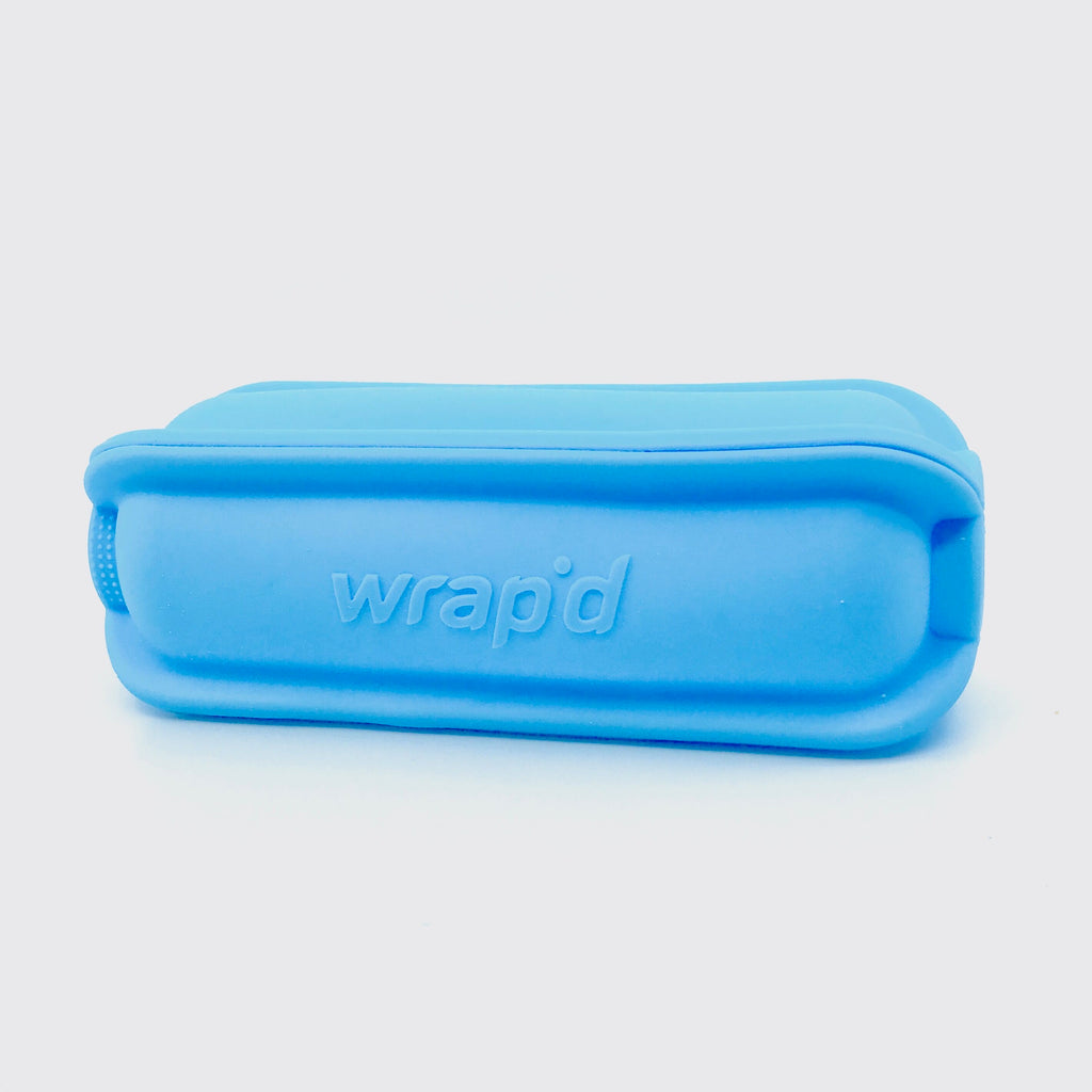 Wrap'd ~ Silicone Wrap Holder Blue