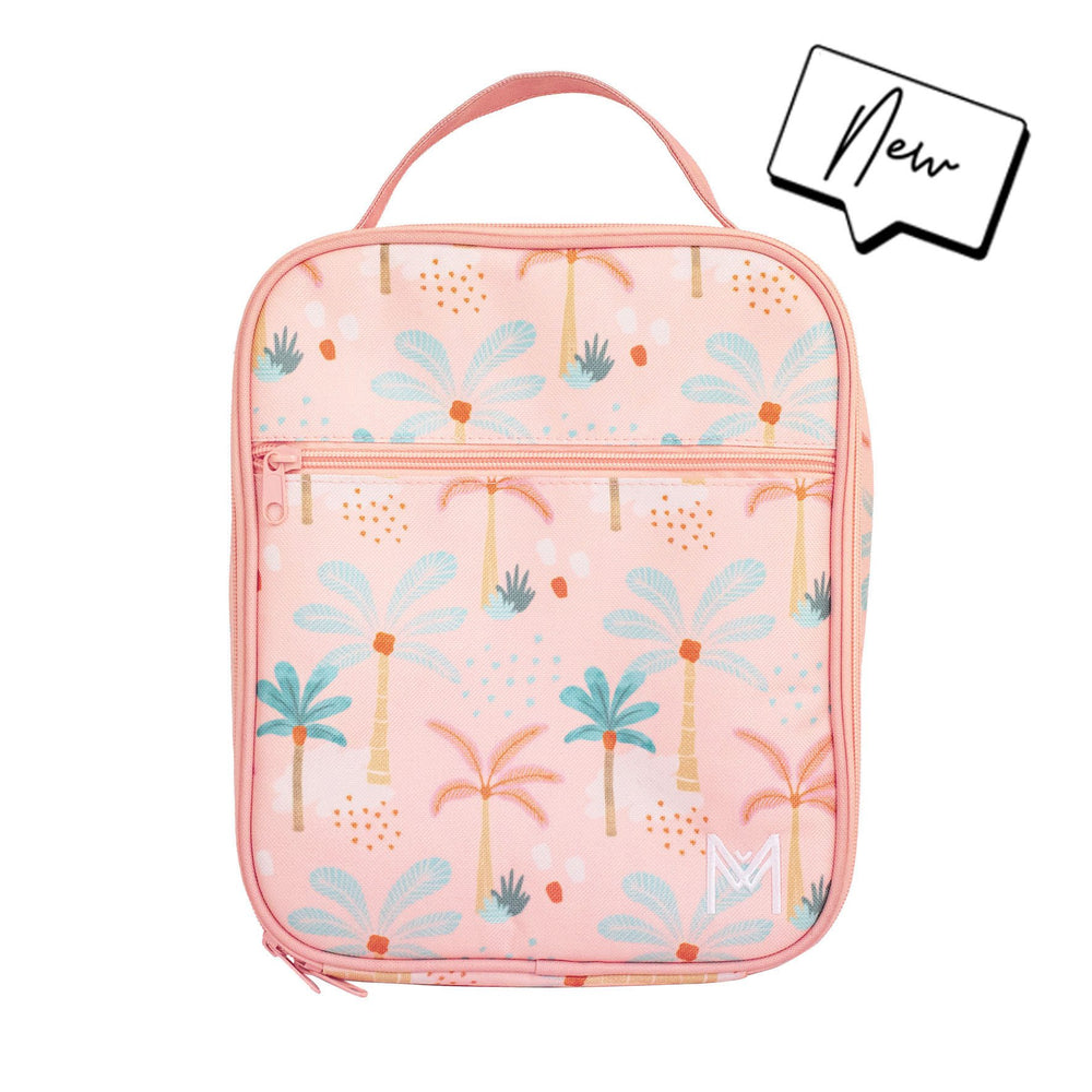 Montii Insulated lunch bag ~ BOHO PALMS ( NEW)
