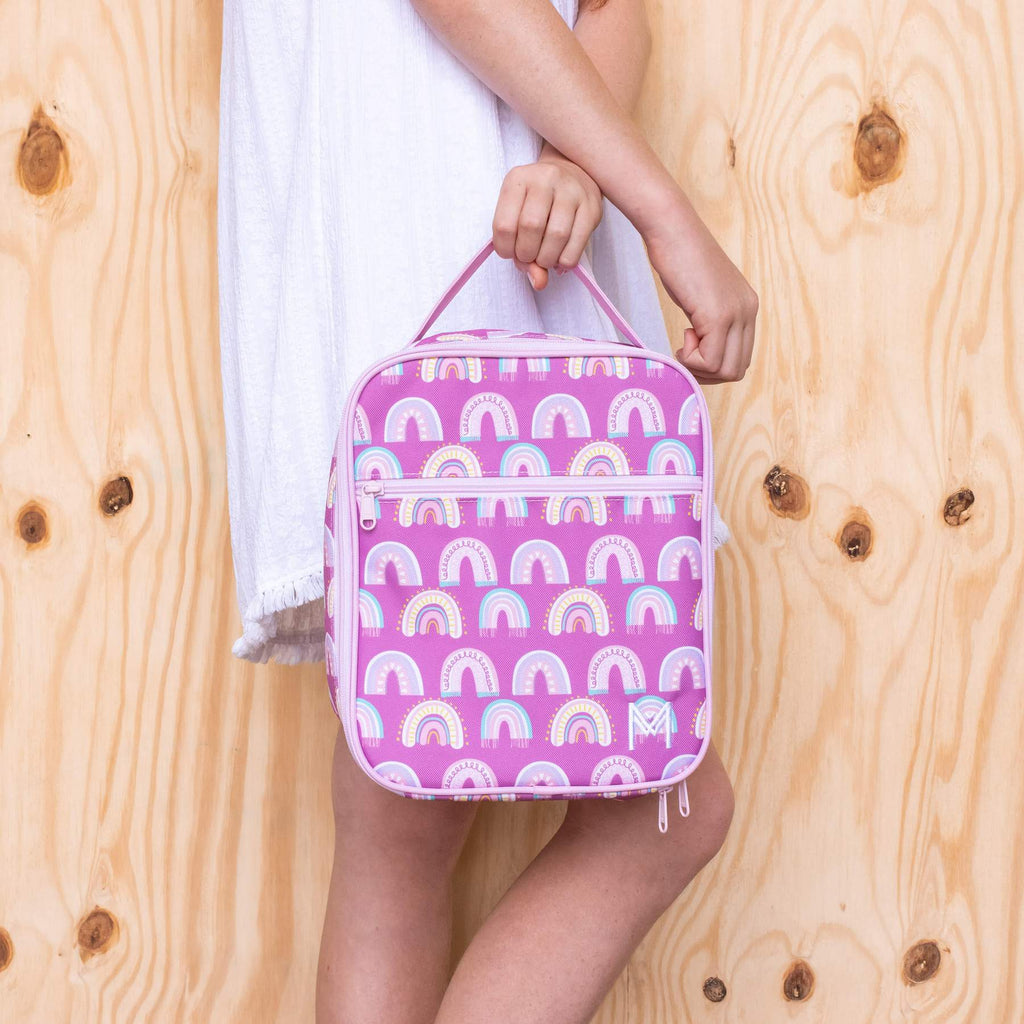 Montii Insulated lunch bag ~ Chasing Rainbows ( NEW )