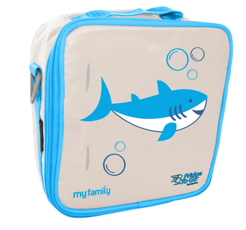 My Family Fridge To Go lunch bag ~  Shark