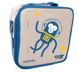 My Family Fridge To Go lunch bag ~ Space Monkey