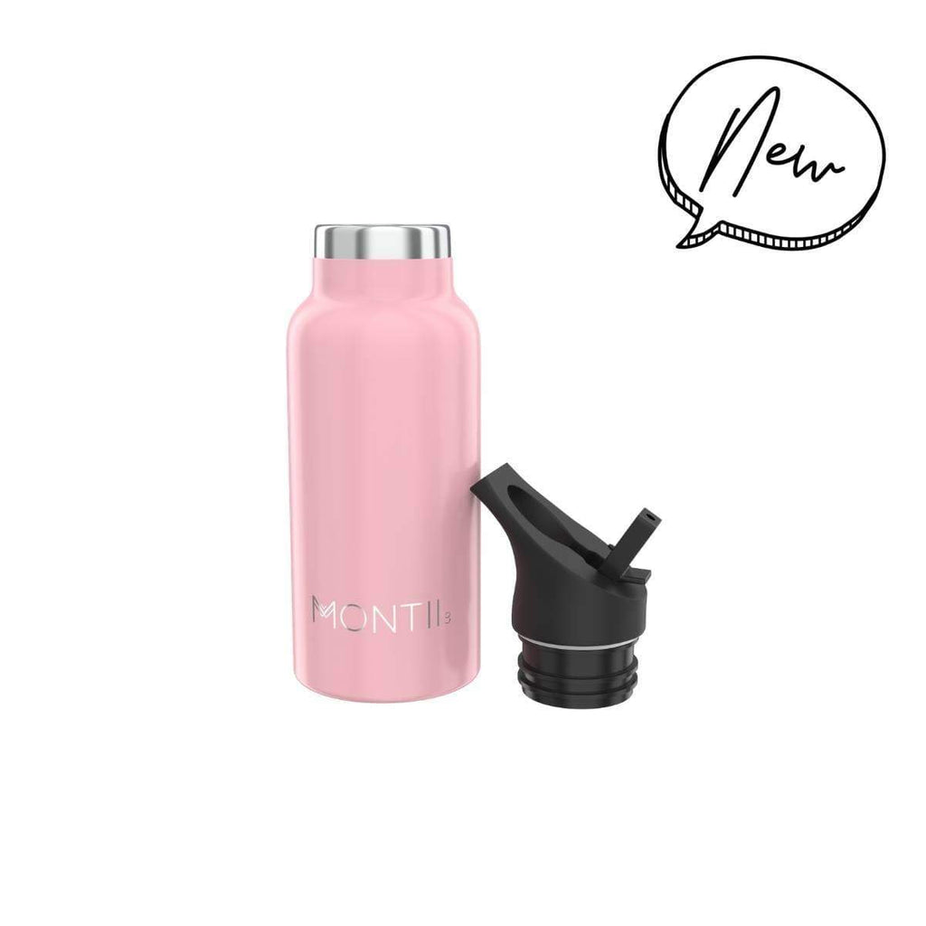 Mini Montii Dusty Pink Insulated Bottle 350ml ( NEW )