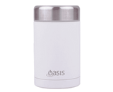 Oasis Stainless Insulated Food Flask - White 450ml