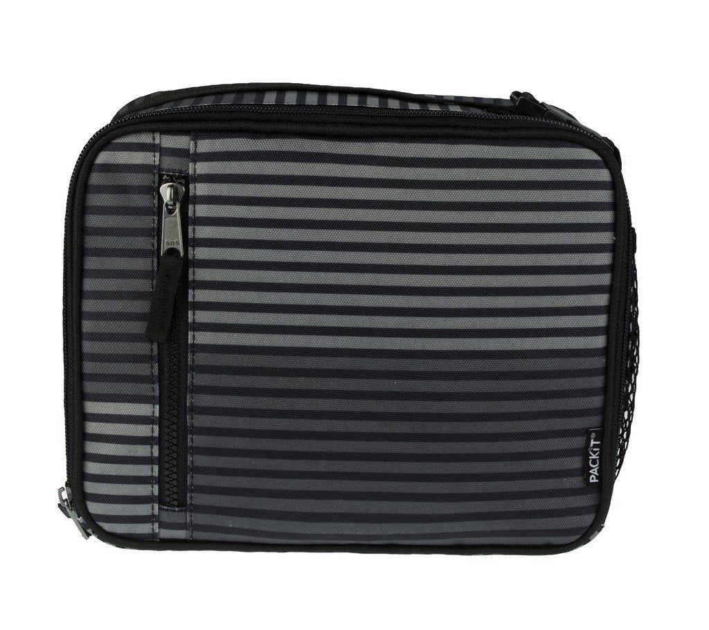 PackIt Freezable Classic Lunch bag - Gray Stripe