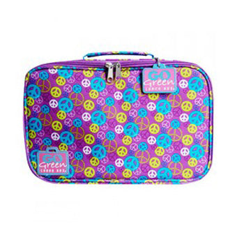 Go Green Lunch Box Set ~ Purple