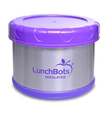 LunchBots Insulated Thermal 16 oz. - Purple ( NEW )