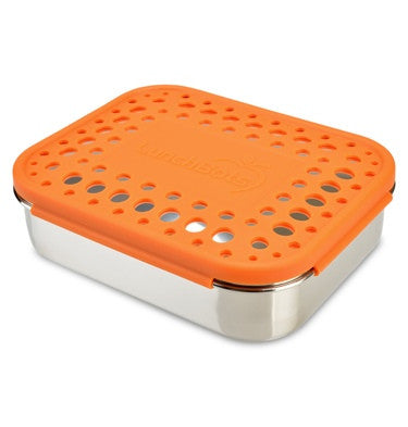 Lunchbots Duo with Dots (600ml) - Orange
