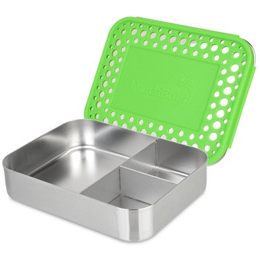 LunchBots Large Trio Dots - Green