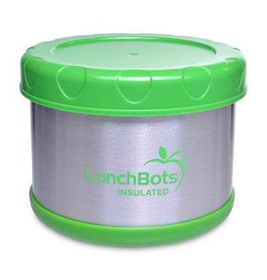 LunchBots Insulated Thermal 16 oz. - Lime
