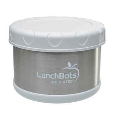 LunchBots Insulated Thermal 16 oz. - White