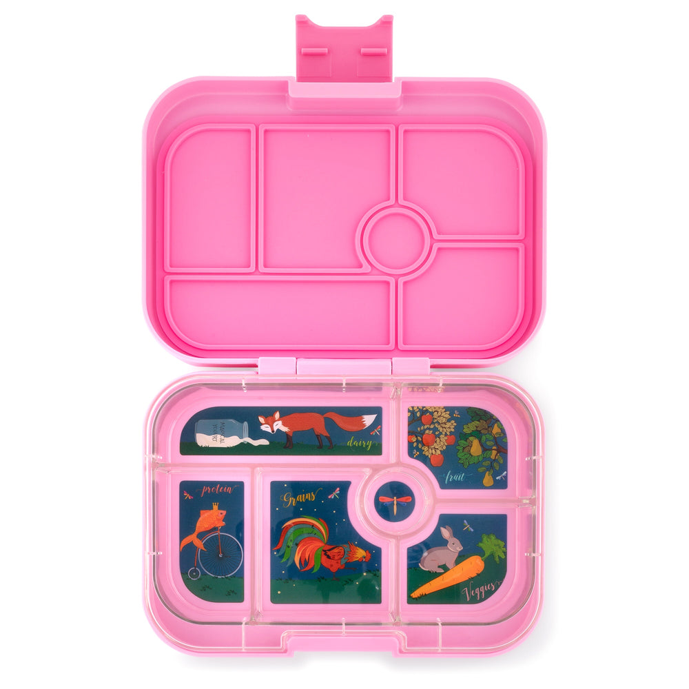 Yumbox Original (6 compartment) ~ Stardust Pink
