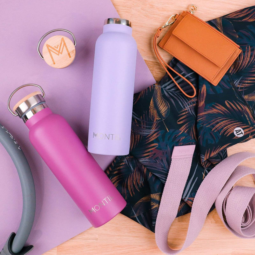 Montii Co Rose Insulated Bottle 600ml ( NEW)