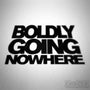 Boldly Going Nowhere Funny Euro Decal Sticker