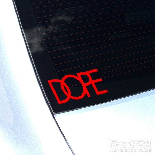 Dope JDM Car Vinyl Decal Sticker V3