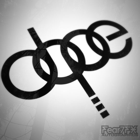 Dope JDM Euro Decal Sticker V5
