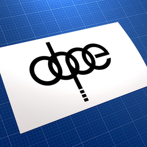 Dope JDM Car Vinyl Decal Sticker V4