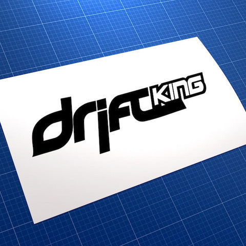 Drift King Race Car JDM Car Vinyl Decal Sticker