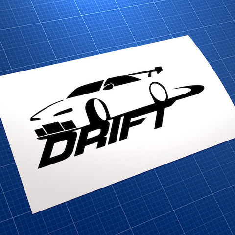 Drift Race Car JDM Car Vinyl Decal Sticker