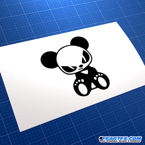 Evil Panda JDM Car Vinyl Decal Sticker
