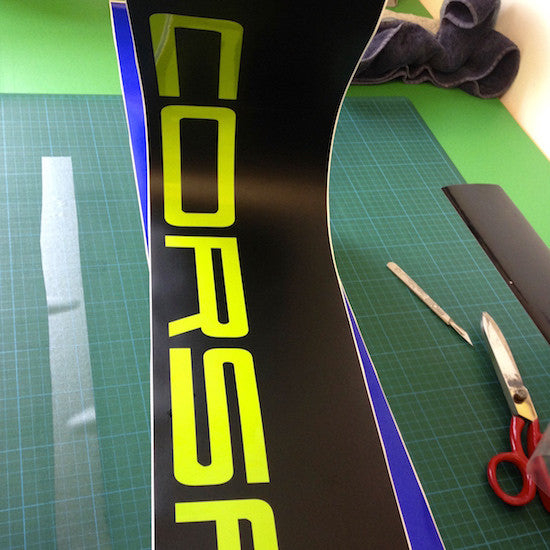 Corsa Vinyl Windscreen SunStrip Any 2 Colours