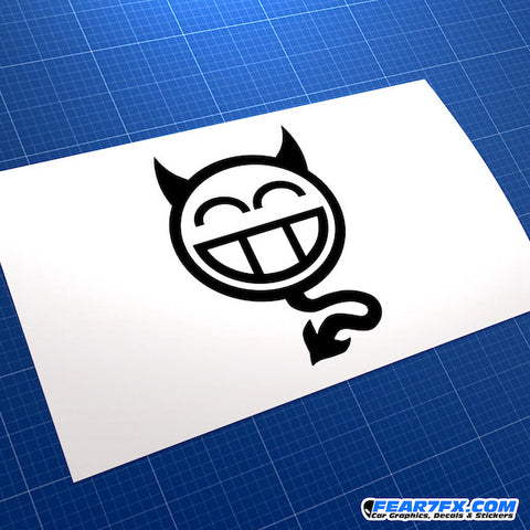 JDM Devil Car Vinyl Decal Sticker