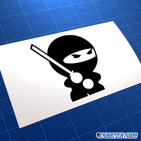 JDM Ninja Car Vinyl Decal Sticker