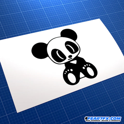 Baby Panda Drift JDM Euro Decal Sticker