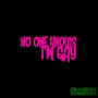No One Knows I'm Gay Funny JDM Car Vinyl Decal Sticker