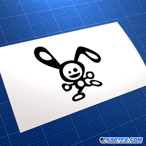 Silly Rabbit JDM Car Vinyl Decal Sticker