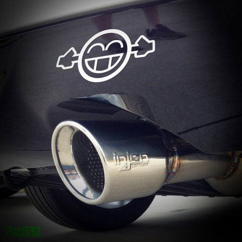 Too Loud Exhaust JDM Car Vinyl Decal Sticker