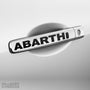 4x Abarth Door Handle V1 Vinyl Decals