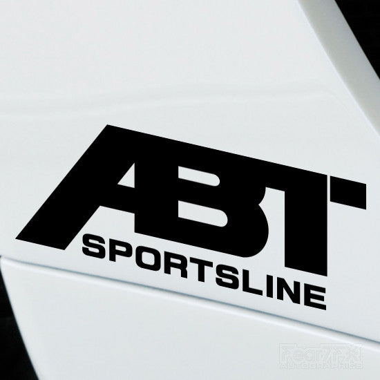 2x ABT Sportsline Performance Tuning Vinyl Decal