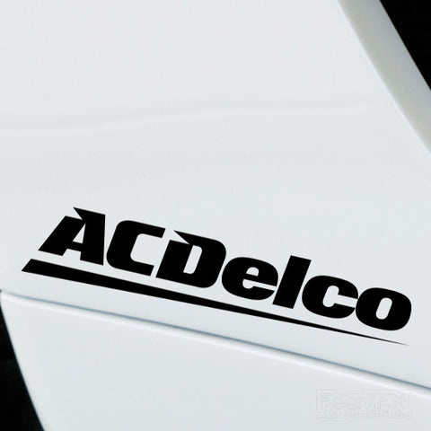 2x ACDelco Performance Tuning Vinyl Decal