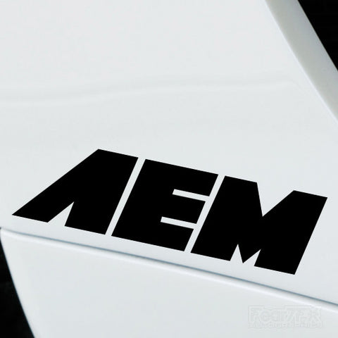 2x AEM Performance Tuning Vinyl Decal