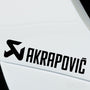 2x Akrapovic Performance Tuning Vinyl Decal