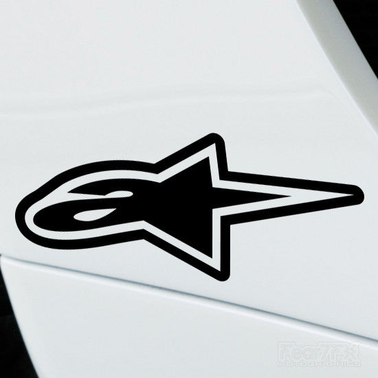 2x AlpineStars V1 Performance Tuning Vinyl Decal