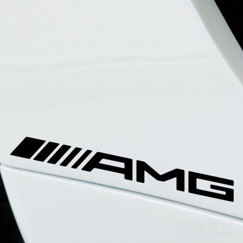 2x AMG Performance Tuning Vinyl Decal