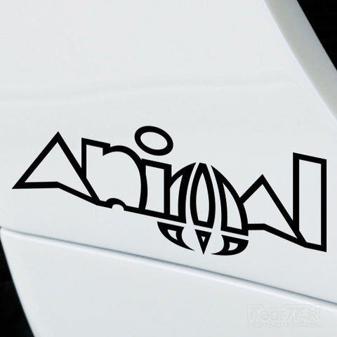 2x Animal Performance Tuning Vinyl Decal