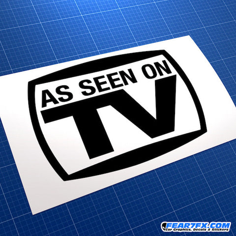 As Seen On TV Funny JDM Car Vinyl Decal Sticker
