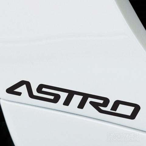 2x Astro Performance Tuning Vinyl Decal