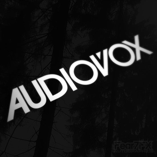 1x Audiovox Audio Vinyl Transfer Decal