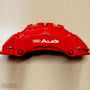 5x Audi Rings V1 Brake Caliper Vinyl Transfer Decals