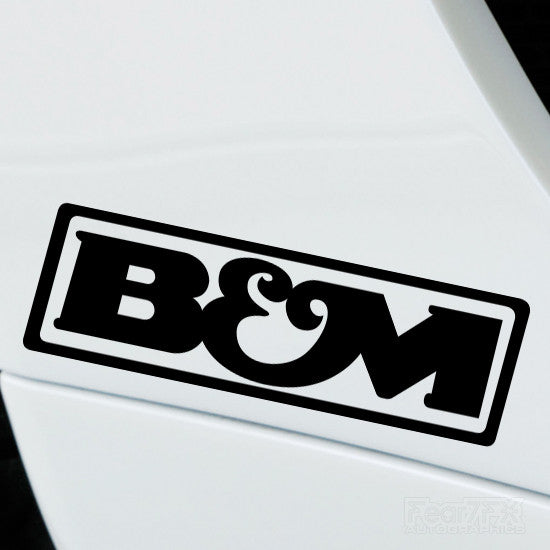 2x B&M Performance Tuning Vinyl Decal