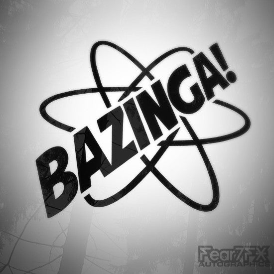 Bazinga! Euro JDM Decal Sticker V2