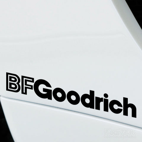 2x BF Goodrich Performance Tuning Vinyl Decal