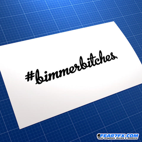 #Bimmerbitches JDM Car Vinyl Decal Sticker