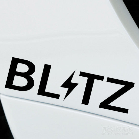 2x Blitz Performance Tuning Vinyl Decal