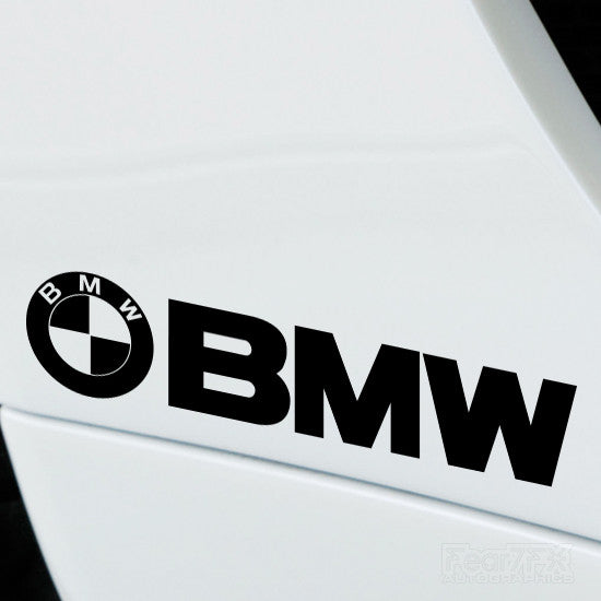 2x BMW Performance Tuning Vinyl Decal